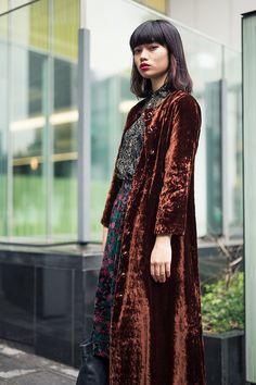 Velvet coat 😍
