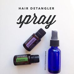 Love this! In a 4 oz bottle, mix together: 15 drops Lavender 15 drops Rosemary 1 Tbsp fractionated coconut oil Top with water  Shake, spray and spare the tears! Also awesome for scalp an hair health, and smells amazing.  Cheers!