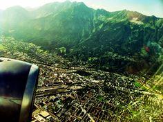 #innsbruck from the air
