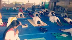 camp in with blessings of yoga guru baba Ramdev World Yoga Day, Baba Ramdev, International Yoga Day, Blessings, Blessed, Camping, Outdoor Decor, Campsite, Campers