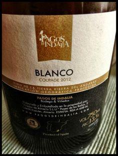 El Alma del Vino.: Pagos de Indalia Flor de Indalia Blanco Coupage 2012.