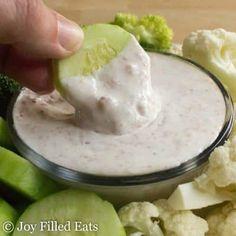 Creamy Bacon Dip - Low Carb, Low Fat, THM FP, Grain Gluten Sugar Free