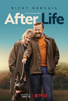 British Tv Comedies, Ricky Gervais, Tv Series To Watch, Life Poster, Poster Wall, Life Tv, Netflix Original Series, Tv Reviews, After Life