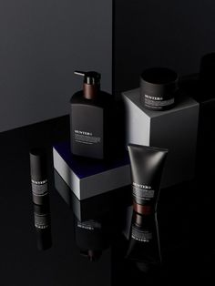Photo – Eve Wilson, styling – Lucy Feagins/The Design Files. Cosmetic Packaging, Beauty Packaging, Black Packaging, Beauty Photography, Cosmetic Photography, Product Photography, Le Manoosh, Skincare Branding, Cosmetic Design