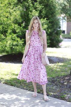 Customized Spring Dress w/ Eshakti | A Daydream Love