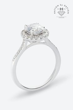 Exquisite Diamond Engagement Rings From Hatton By Design Can T Get To Hatton Garden We Bring It Beautiful Jewelry Design Your Engagement Ring Bridal Jewelry