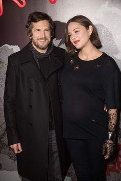 Marion Cotillard et Guillaume Canet à l'avant-première de Rock'n Roll à Paris