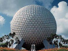 Buckminster Fuller Geodesic Sphere, EPCOT CENTER
