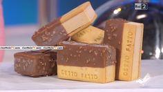 """""""Detto Fatto"""": la ricetta del gelato biscotto di Domenico Spadafora del 13 maggio 2016. Un dolce estivo da non perdere e da rifare a casa!"""