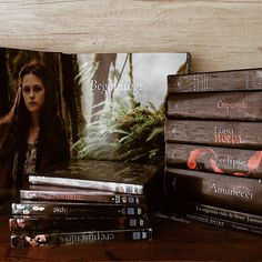 Twilight series. Books and movies.