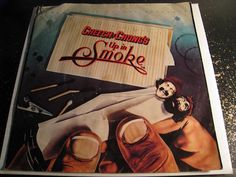 Cheech & Chong - Up In Smoke b/w Rock Fight - WB #8666 - Chicano Soul - Rock n Roll
