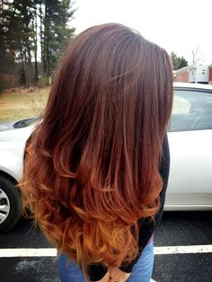 ombre hair!!!! LOVE LOVE LOVE this color the most!!!