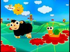 ▶ Kinderliedjes (BabyTV) - Schaapje, Schaapje heb je witte wol... - YouTube