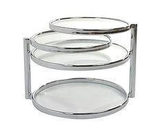 Кофейный столик - стекло - прозрачный - 43х85х58