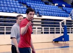"""Drew Scott on Twitter: """"The true sign of an athlete...I'm willing to try anything😂 Check out the new video now up on YouTube! https://t.co/YI2iZqfpxt https://t.co/7hDU6980VK"""""""