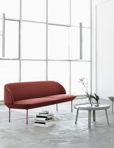 The OSLO SOFA series combines light and modern design with an ergonomically focused comfortable lounging experience. Designed by Anderssen & Voll, the furniture is crafted in Norway and upholstered in Denmark with Kvadrat textiles, ensuring the highest quality.  Perfect as a second sofa, whether in the hallway, kitchen or living room,  the OSLO is available in monochrome colours in 2-Seater and 3-Seater versions, alongside lounge chairs, poufs and bench variants.