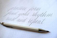 Calligraphy Practice Tips