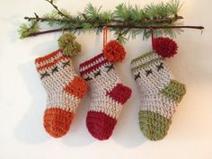Crochet Christmas Stocking Pattern | Hooked By Design