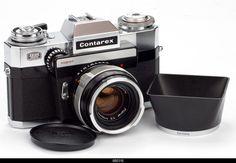 Antique Cameras, Old Cameras, Vintage Cameras, Carl Zeiss Jena, Classic Camera, Lomography, Photography Camera, 35mm Film, Ikon