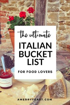 Italy Travel Tips: Our Ultimate Italian Bucket list for Food Lovers. A list of delicious foods to taste and food and wine experiences to have no matter where you are in Italy! Milan Food, Italy Vacation, Italy Trip, Italy Italy, Italy Food, European Vacation, Italy Honeymoon, Toscana Italy, Sorrento Italy
