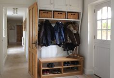 Boot and coat storage