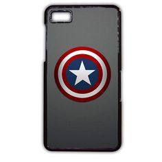 Captain America Shield TATUM-2360 Blackberry Phonecase Cover For Blackberry Q10, Blackberry Z10