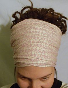 Organic Ivy Goddess Wrap  Hair Scarf  Neck Scarf  by KreativeMindz, $25.00