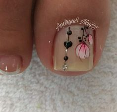 Cute Toe Nails, Cute Toes, Magic Nails, Pedicure, Nail Designs, Tattoos, Nails Inspiration, Perfect Nails, Designed Nails