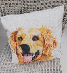 Golden Retriever Gifts, Cushion Pads, Beautiful Images, Cushions, Throw Pillows, Toss Pillows, Toss Pillows, Pillows, Decorative Pillows