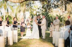 Southern Vintage Pink and Navy Wedding