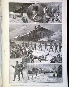 "The ""Miners' Riots at Shenandoah, Pennsylvania"", and the Molly Maguires, HARPER'S WEEKLY, New York, February 18, 1888."