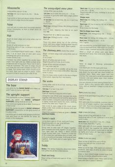 Free ISSUU PDF download tool online | Vebuka.com Knitting Dolls Free Patterns, Teddy Bear Knitting Pattern, Christmas Knitting Patterns, Knitting Toys, Knit Patterns, Free Knitting, Knitting Projects, Knitted Nurse Doll, Knitted Dolls Free