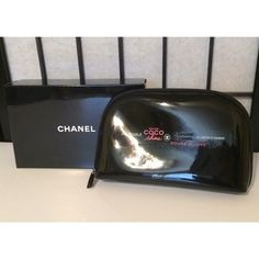 Chanel Makeup Cosmetics Bag Chanel Black Cosmetics/Makeup Carrying Bag with Box. Fill it with your makeup essentials! CHANEL Bags Cosmetic Bags & Cases