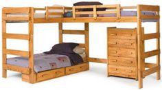 Triple Sleeper Bunk Beds For Kids