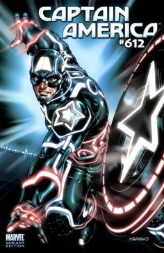 Captain America Vol. 5 # 612 (Variant) by Brandon Peterson