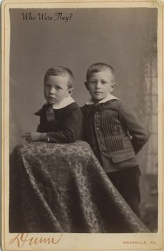 """The back of this photograph has """"early 1930s"""" written on it."""