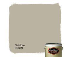 Dunn-Edwards Paints paint color: Flintstone DE6221 | Click for a free color sample #DunnEdwards