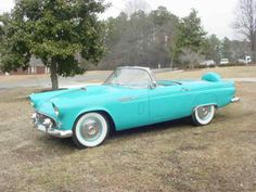 1956 Ford Thunderbird :) and it's turquoise! I must have it!