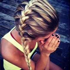 Top French braid