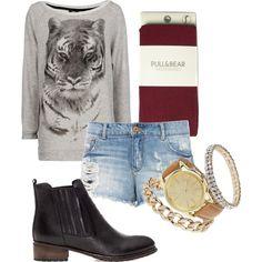 """""""Aqui tens um bom look, para uma esplanada á noite"""" by rute-bea on Polyvore Shoe Bag, Polyvore, Stuff To Buy, Shopping, Clothes, Collection, Shoes, Design, Fashion"""