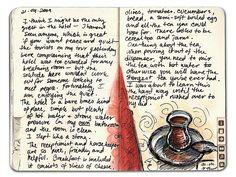 sketchbook or journal