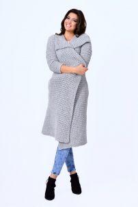 Dámske tehotenské kardigány šedej farby Sweaters, Dresses, Fashion, Vestidos, Moda, Fashion Styles, Sweater, Dress, Fashion Illustrations