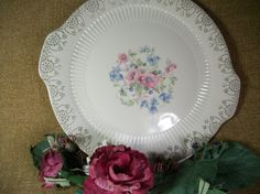 Royal China Sebring Cake Plate Serving Platter by TKSPRINGTHINGS, $23.95