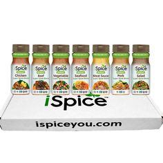 iSpice - Salt Free | Sugar free | 100% Pure Wellness Super Spices Seasoning Blen | eBay