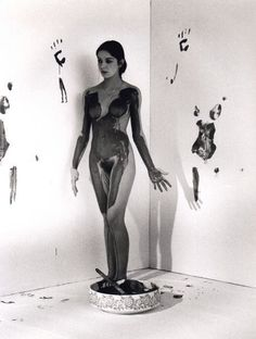 yves klein anthropometries More