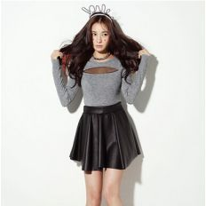 womens leather skirts for sale