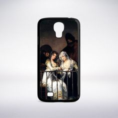 Francisco Goya - Majas On A Balcony Phone Case