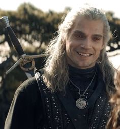 Geralt of Rivia — My melting heart The Witcher Series, The Witchers, Witcher Wallpaper, The Witcher Geralt, Jon Snow, Cinema Tv, Man Of Steel, Steel Dc, All Smiles