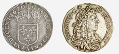 Nouvelle-France, Louis XIV, pièce de 15 sols, 1670