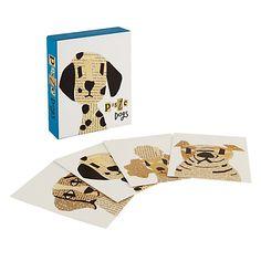 Buy Te Neues Paste Dog Notecards, Pack of 20 Online at johnlewis.com